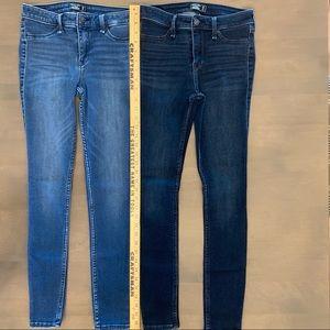 Abercrombie & Fitch Harper Low Rise Jean Leggings